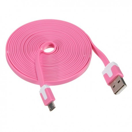 1 meter 30 pin USB kabel Pink